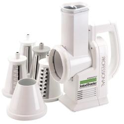 : Presto 02970 Professional SaladShooter Electric Slicer/Shredder, White