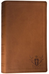 : ESV, Personal Size Reference Bible (TruTone, Chestnut, Crest)