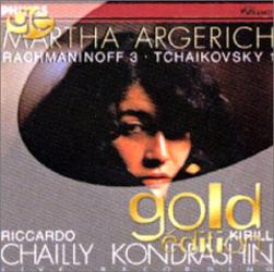 Rachmaninov - Concerto pour piano 3 / Tchaikovski - Concerto pour piano 1: Martha Argerich - Riccarod Chailly - Kirill Kondrashin