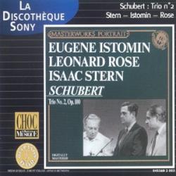 Schubert - Trio n°2 Opus 100 en mi bémol majeur: Isaac Stern (violon) - Leonard Rose (violoncelle) - Eugen Istomin (piano)