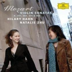Mozart - Sonates pour violon et piano K. 301, 304, 376 & 526: Hilary Hahn (violon) - Natalie Zhu (piano)