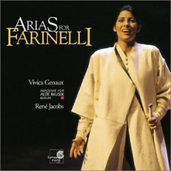 : Vivica Genaux ~ Arias for Farinelli