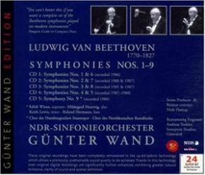 Beethoven - Intégrale des Symphonies nos 1-9: Günter Wand - Orchestre symphonique de la NDR