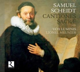 Samuel Scheidt - Cantiones sacrae: Ensemble Vox Luminis - direction Lionel Meunier - Label Ricercar
