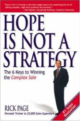 Rick Page: Hope is Not A Strategy