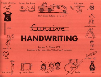 Jan Olsen: Cursive Handwriting - Contracted Edition