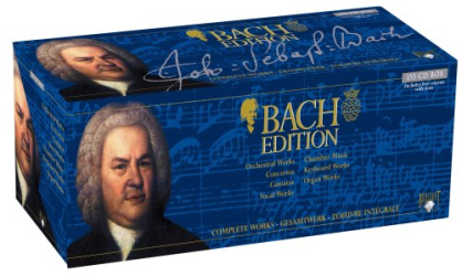 - Bach Edition: Complete Works (155 CD Box Set)