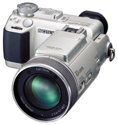 : Sony DSCF717 5MP Digital Still Camera w/ 5x Optical Zoom