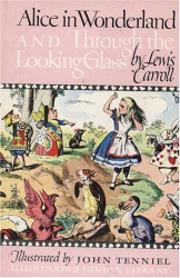 Lewis  Carroll: Alice in Wonderland and Through the Looking Glass (Illustrated Junior Library)