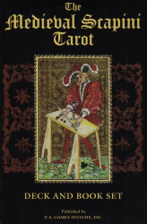Luigi Scapini: The Medieval Scapini Tarot: Deck and Book Set