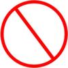 Anti Symbol