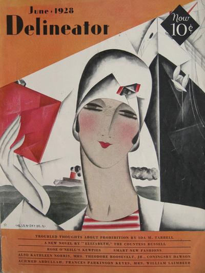 Delineator  June 1928  cover