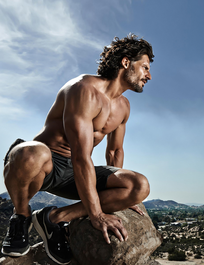 MASCULINE DOSAGE Joe Manganiello for Men's Health Magazine, Summer 2014, www.imageamplified.com, Image Amplified