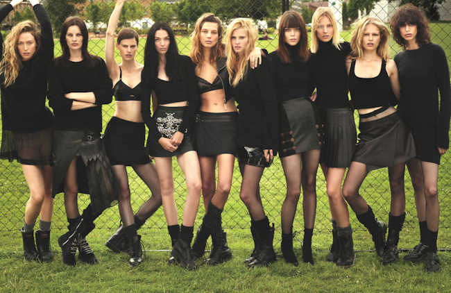 W MAGAZINE Super Normal Super Models by Mert & Marcus. Edward Enninful, September 2014, www.imageamplified.com, Image Amplified