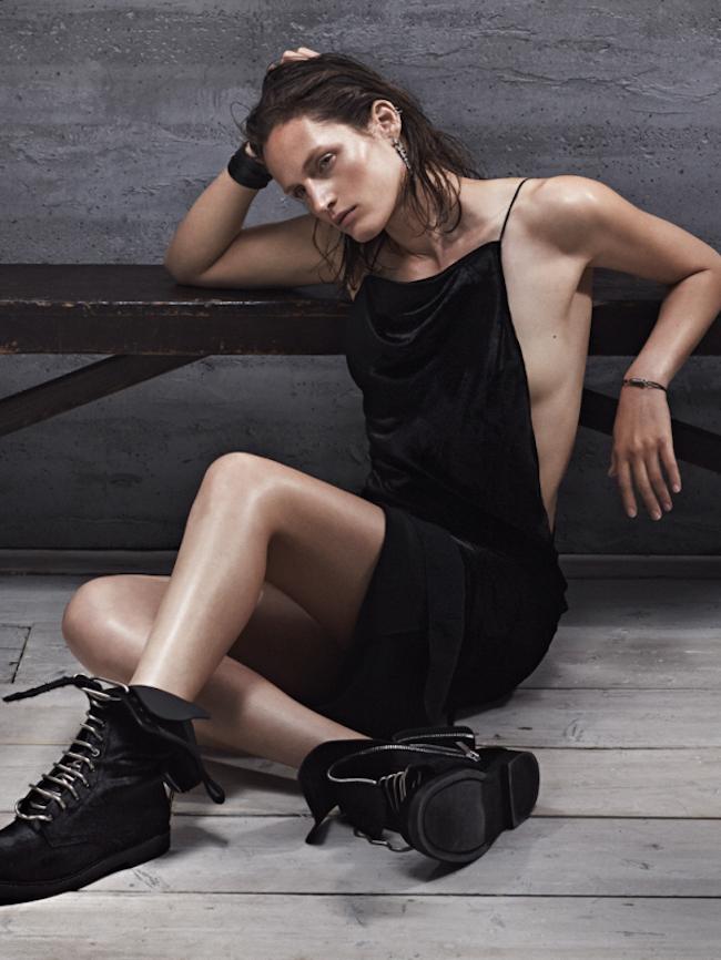 VOGUE RUSSIA Vivien Solari in Black Label by Emma Tempest. Camilla Pole, October 2014, www.imageamplified.com, Image Amplified
