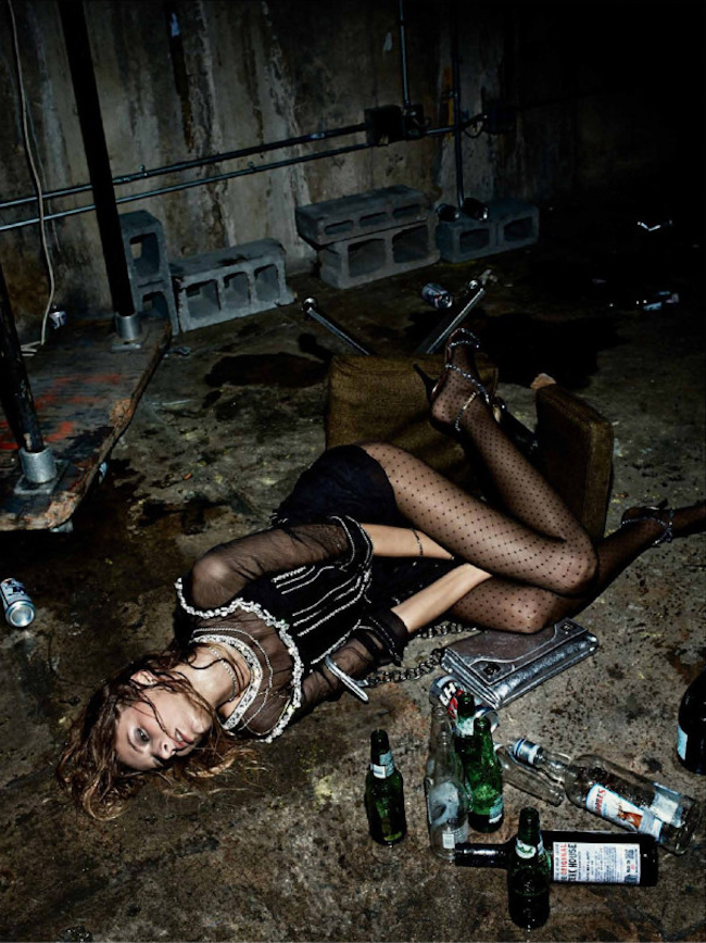 INTERVIEW MAGAZINE Pretty Wasted by Fabien Baron. Karl Templer, October 2014, www.imageamplified.com, Image Amplified