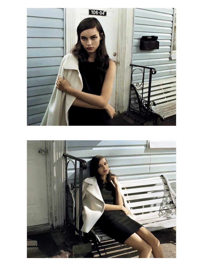 VOGUE ITALIA Suggestions by Vincent Peters. Valentina Serra, October 2014, www.imageamplified.com, Image Amplified