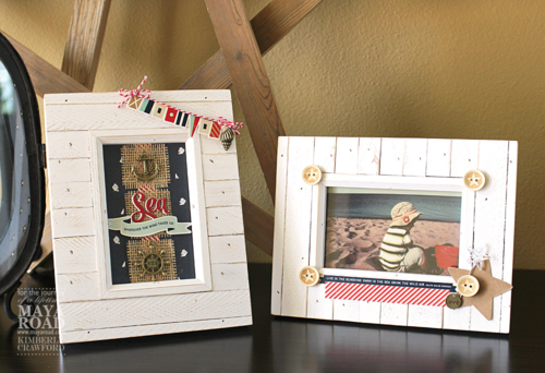 Summer frame decor Maya Road Kimberly Crawford