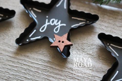 Star ornaments 5 Kimberly Crawford