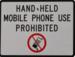 Handheld phone use