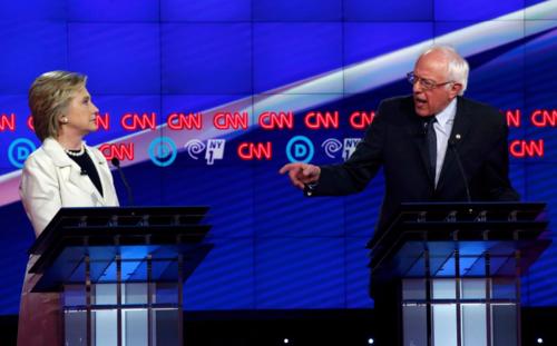 Bernie Sanders and Hillary