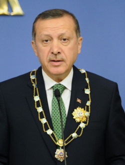 Turkish leader says flight to Syria carried ammunition