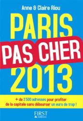 Anne Riou: Paris pas cher