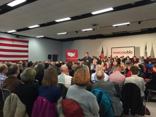 In Iowa, Marco Rubio calls himself most conservative