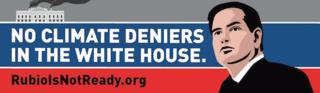 Rubio billboard
