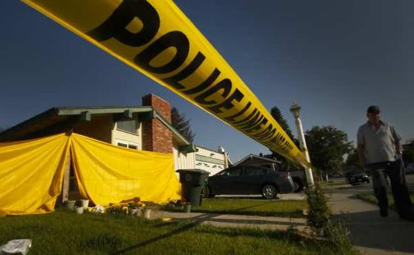 Lehmann crime scene