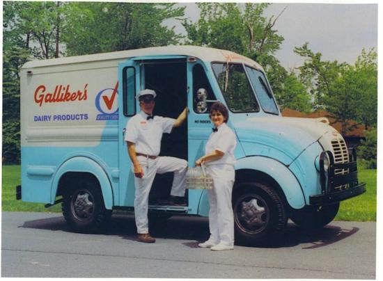 Galliker's Dairy truck