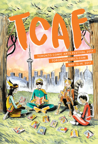 Jeff Lemire TCAF2017 poster 1200px