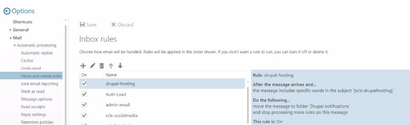 Inbox Rules