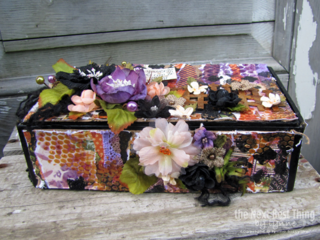 Be Yourself Cigar Box by Lynne Forsythe
