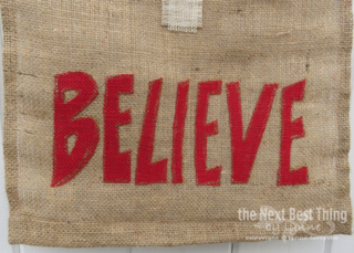 Believe Banner by Lynne Forsythe