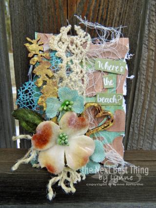 Spring ATC's by Lynne Forsythe
