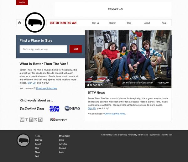 Better Than The Van: CouchSurfing For Musicians - hypebot
