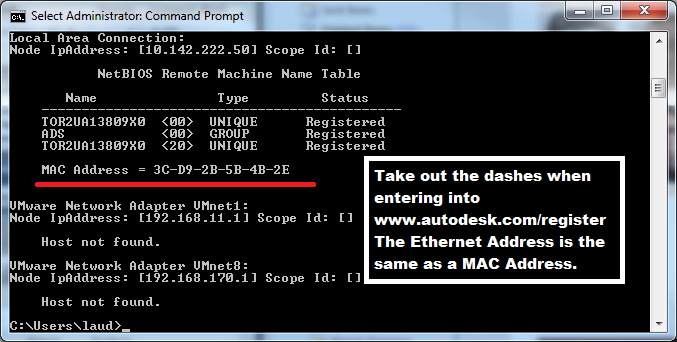 Tip: Getting server information via the Command Prompt [cmd