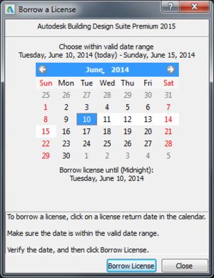 Borrow-Calendar