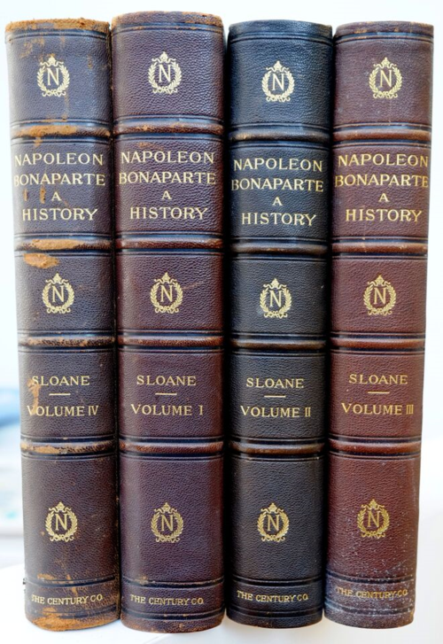 Napoleon Bonaparte a History (four volumes with nice binding)