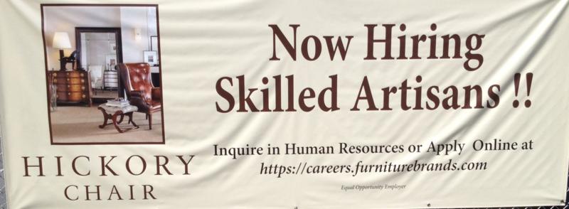 Hiring Skilled Artisans! 2013