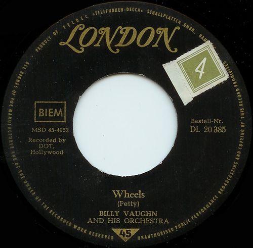 Billy Vaughn-Wheels