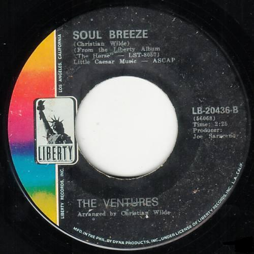 The Ventures - Soul Breeze