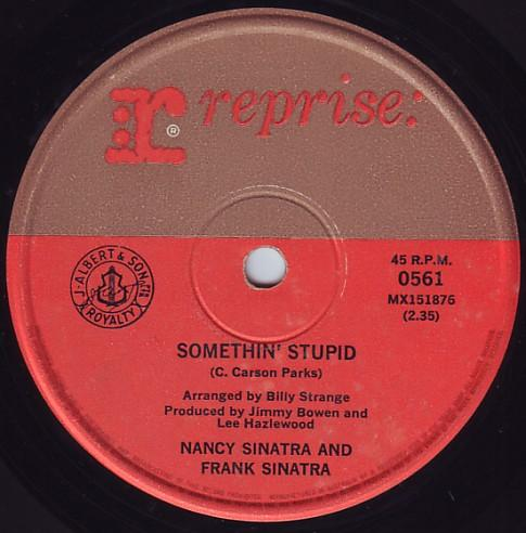 Nancy & Frank Sinatra - Something Stupid