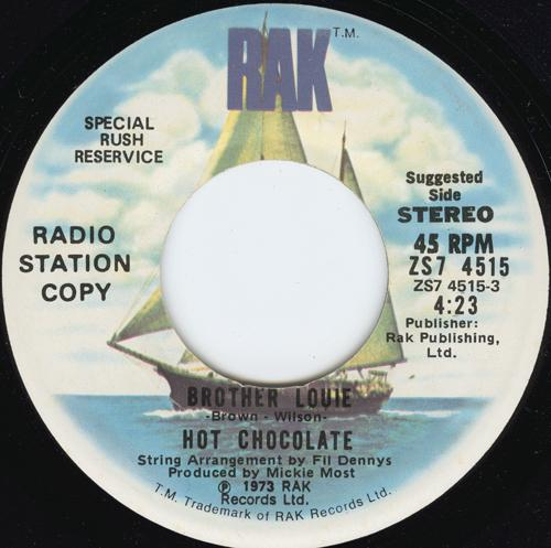 Hot Chocolate - Brother Louie