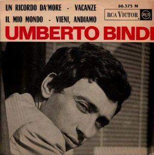 Umberto Bindi - Il Mio Mondo