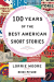 Lorrie Moore (Ed.): 100 Years of The Best American Short Stories