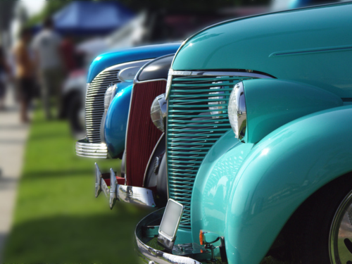 Stowe Antique & Classic Car Meet