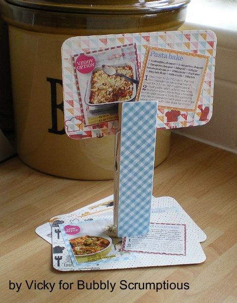 Whats Cookin' Recipe Card Holder