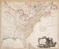 Map of the United States of North America, 1796